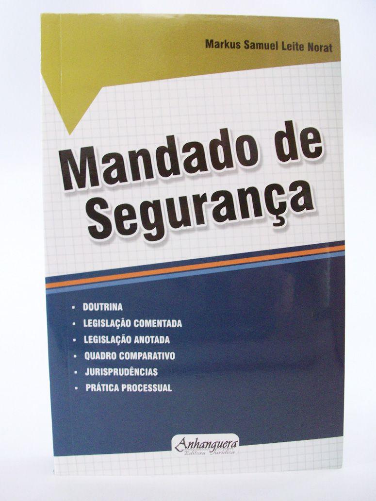 Mandado de Segurança  - Edijur Editora