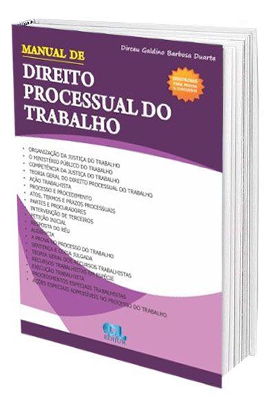 Manual De Direito Processual Do Trabalho  - Edijur Editora