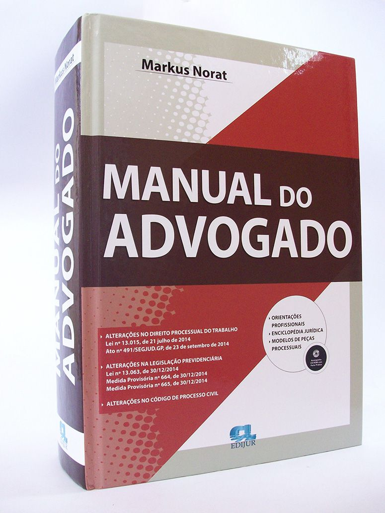 Manual do Advogado  - Edijur Editora