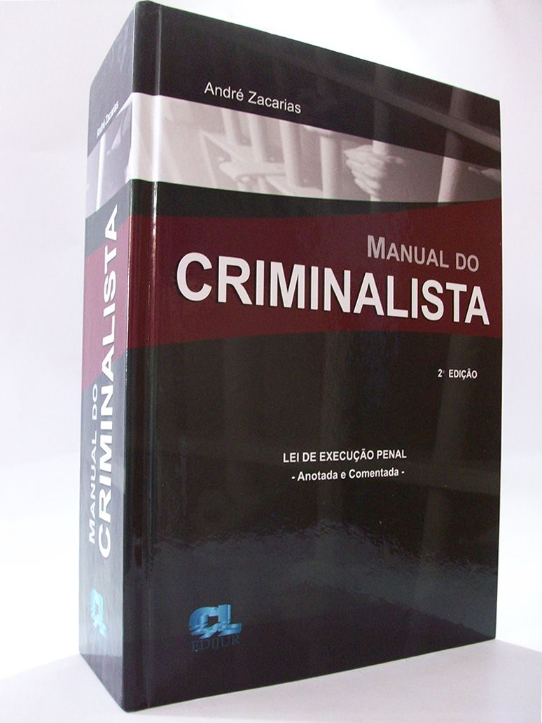 Manual do Criminalista  - Edijur Editora