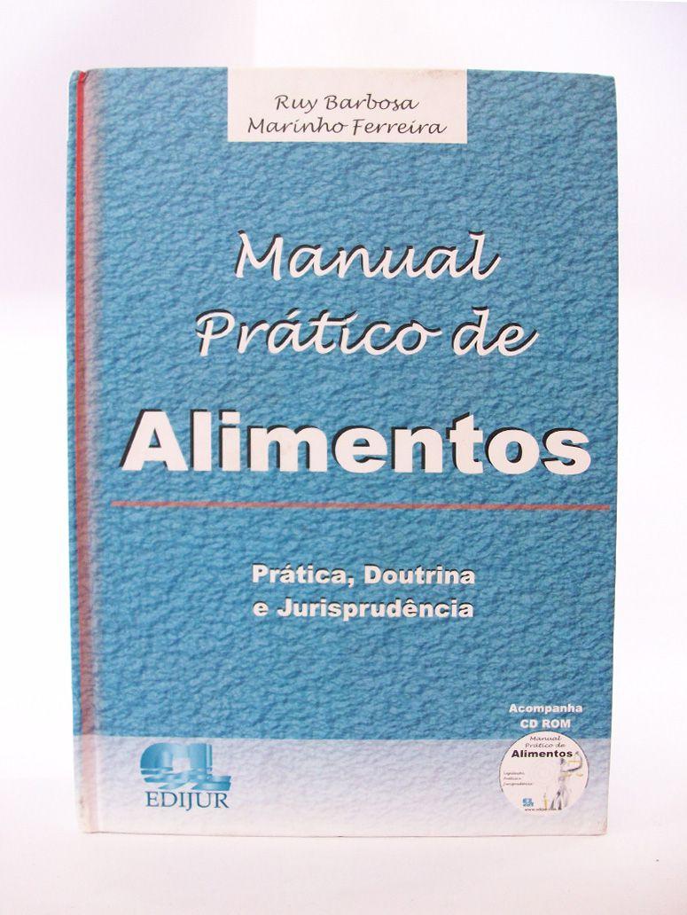 Manual Prático de Alimentos  - Edijur Editora