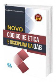 Novo Código de Ética e Disciplina da OAB  - Edijur Editora
