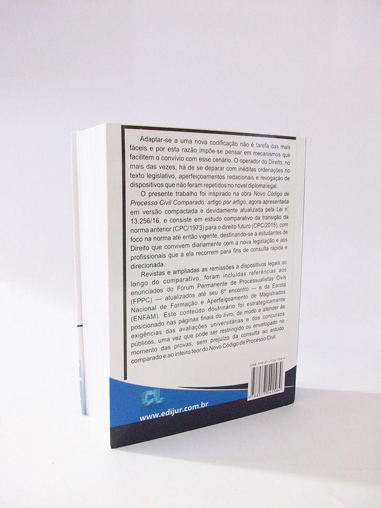 Novo Código de Processo Civil Comparado Artigo por Artigo - Mini  - Edijur Editora