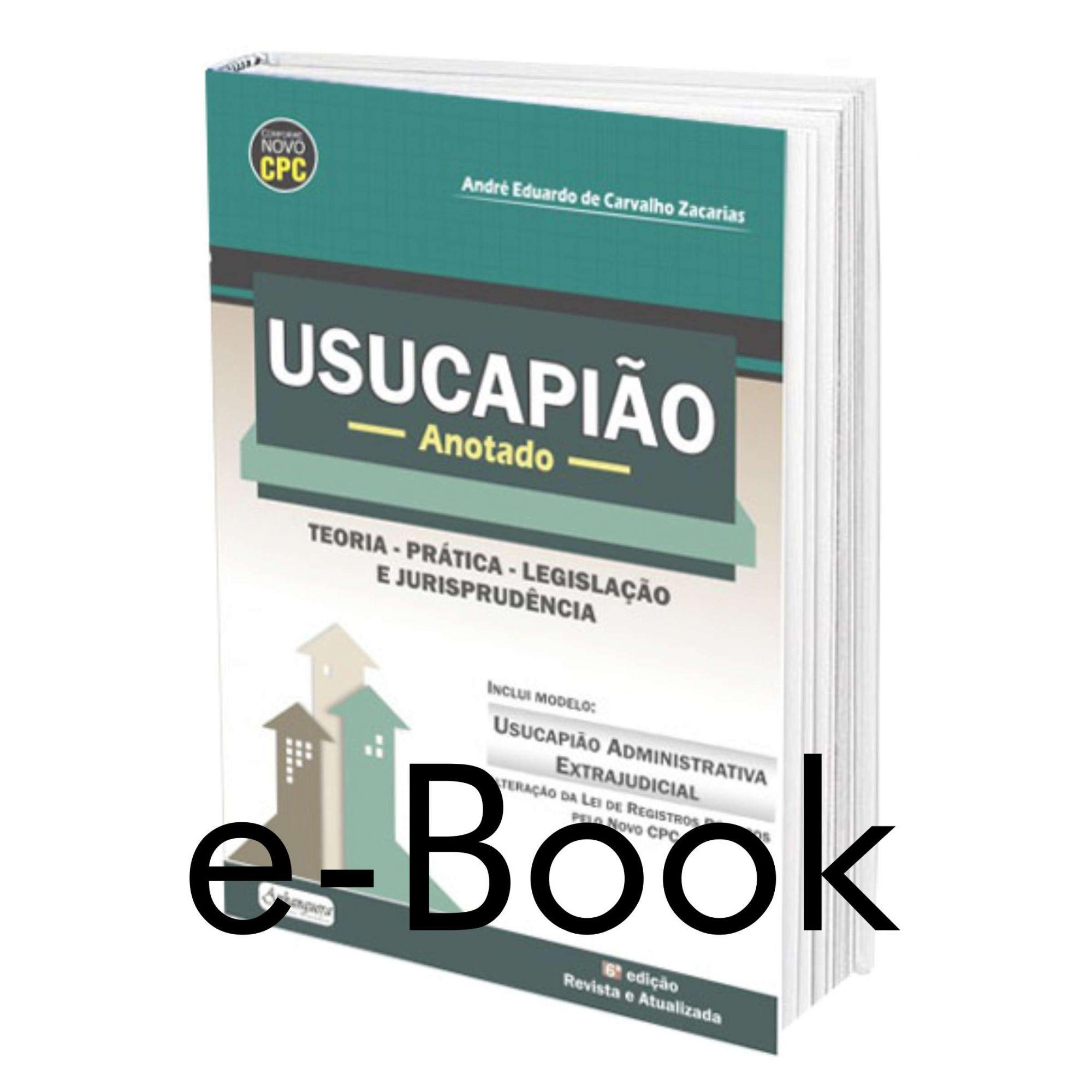 Parte Prática - Usucapião Anotado  - Edijur Editora