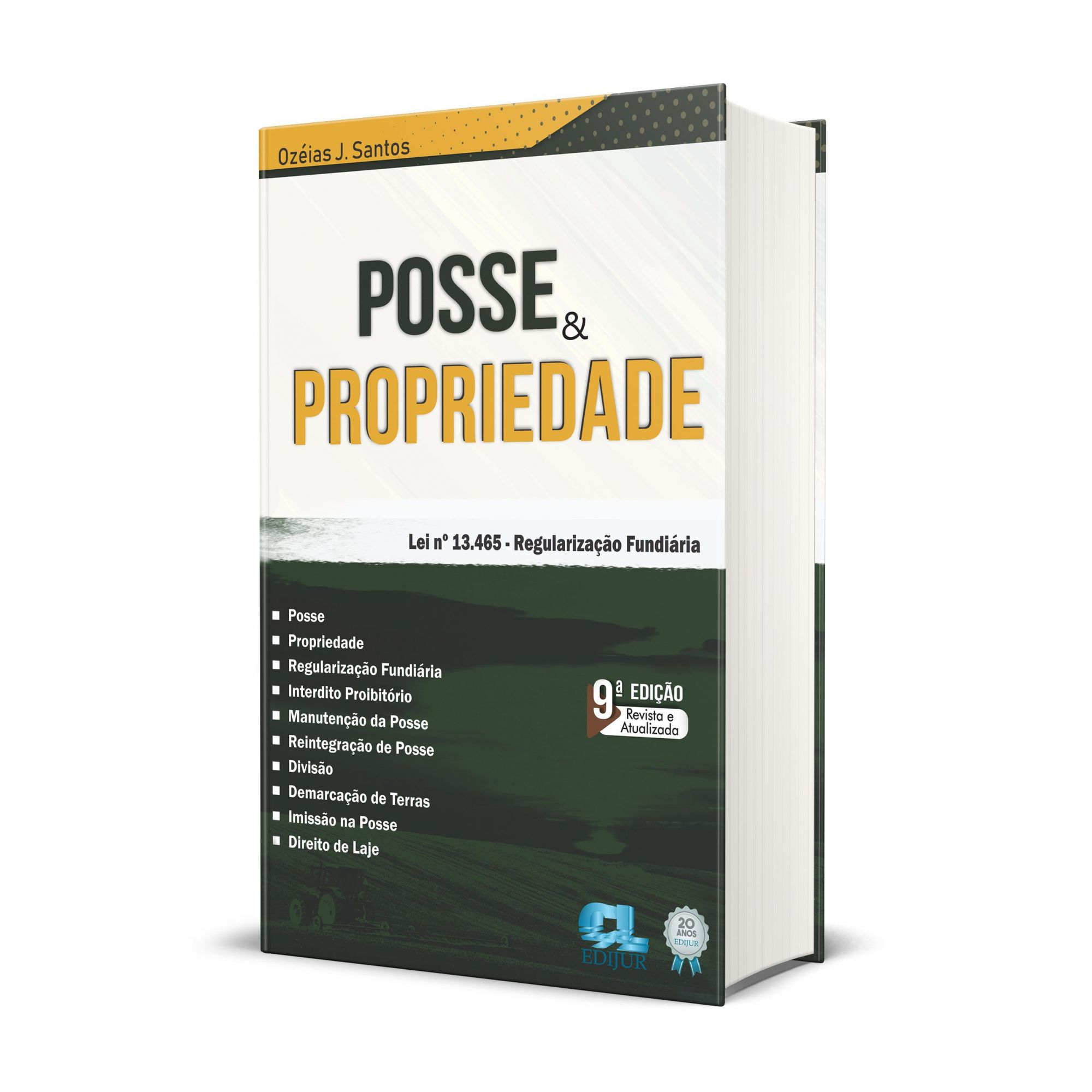 Posse e Propriedade  - Edijur Editora