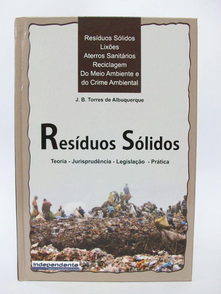 Resíduos Sólidos  - Edijur Editora