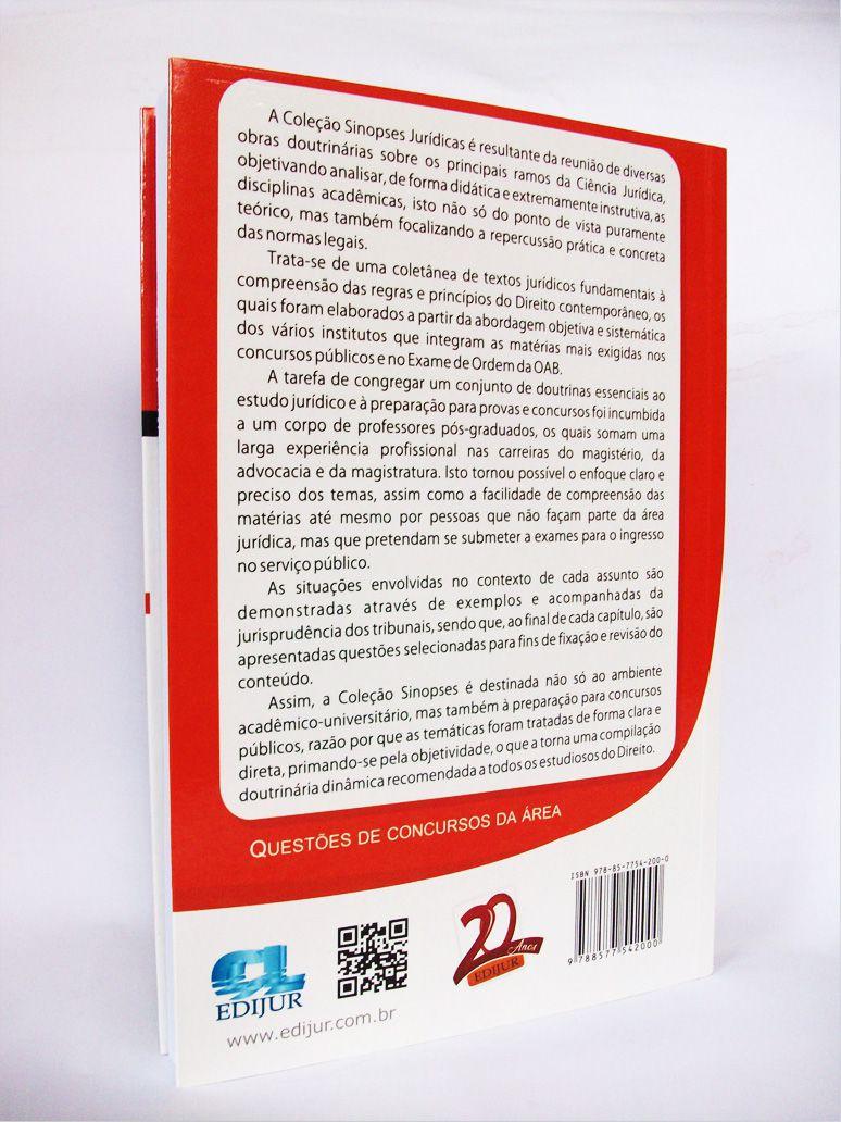 Sinopses Jurídicas Direito Administrativo  - Edijur Editora
