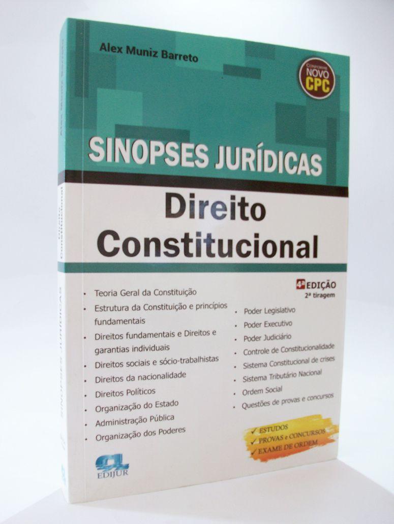 Sinopses Jurídicas - Direito Constitucional  - Edijur Editora