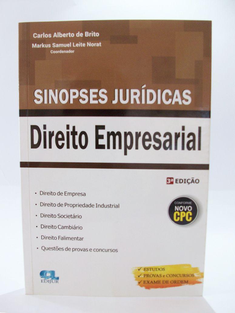 Sinopses Jurídicas - Direito Empresarial