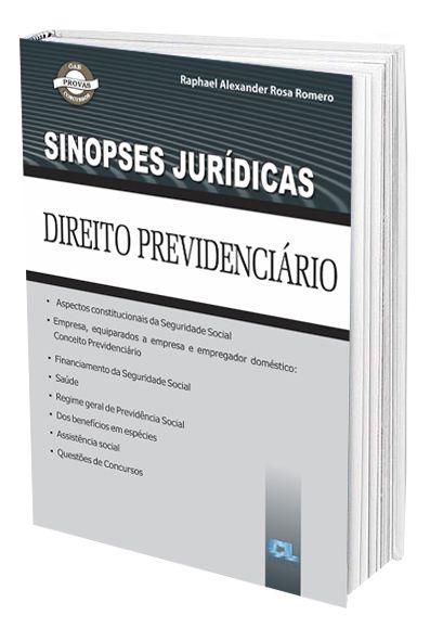 Sinopses Jurídicas - Direito Previdenciário