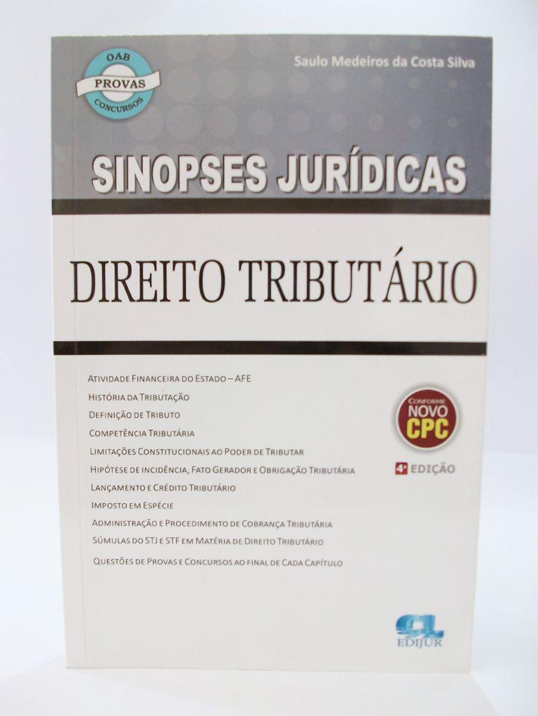 Sinopses Jurídicas - Direito Tributário  - Edijur Editora