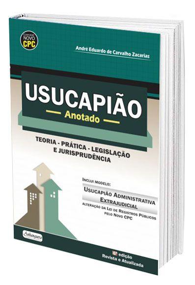 Usucapião Anotado  - Edijur Editora
