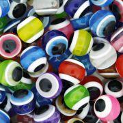 Bolinha - Olho Grego - Colorido - 10mm