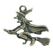 Bruxa Voando - Ouro Velho - 34mm