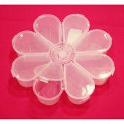 Caixa Organizadora - Flor Transparente - 18cm