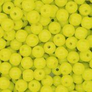 Contas de Porcelana® - Amarela - 6mm