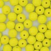 Contas de Porcelana® - Amarela - 8mm