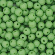 Contas de Porcelana® - Verde Clara - 6mm