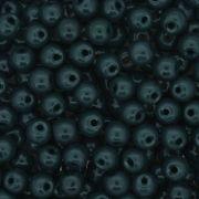 Contas de Porcelana® - Verde Escura - 6mm
