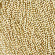 Corrente de Bolinha - 1,5mm - Dourada