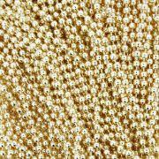 Corrente de Bolinha - 2,0mm - Dourada
