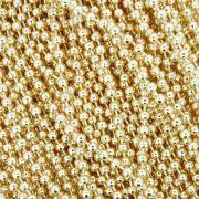 Corrente de Bolinha - 2,4mm - Dourada