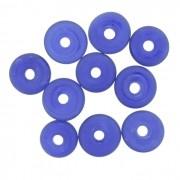 Disco Vidro - Azul Transparente - Ref.: MD542
