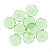 Disco Vidro - Verde Transparente - Ref.: MD600