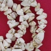 Fio de Cascalho - Stone® - Howlita Bege
