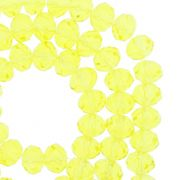 Fio de Cristal - Flat® - Amarelo Claro Transparente - 8mm