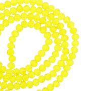 Fio de Cristal - Flat® - Amarelo Transparente - 4mm