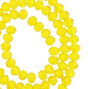 Fio de Cristal - Flat® - Amarelo Transparente - 6mm