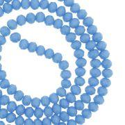 Fio de Cristal - Flat® - Azul Claro - 4mm