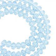 Fio de Cristal - Flat® - Azul Claro Transparente - 6mm