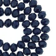 Fio de Cristal - Flat® - Azul Marinho - 8mm