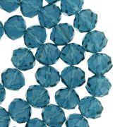 Fio de Cristal - Flat® - Azul Petróleo - 10mm