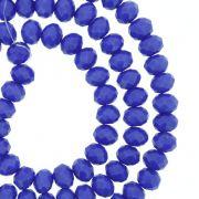 Fio de Cristal - Flat® - Azul Royal - 6mm