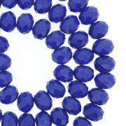 Fio de Cristal - Flat® - Azul Royal - 8mm