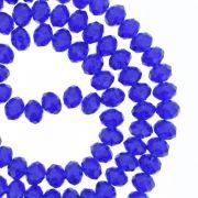 Fio de Cristal - Flat® - Azul Royal Transparente - 6mm