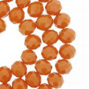 Fio de Cristal - Flat® - Laranja Coral - 10mm