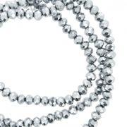 Fio de Cristal - Flat® - Prateado - 4mm