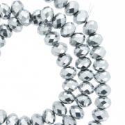 Fio de Cristal - Flat® - Prateado - 6mm
