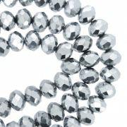 Fio de Cristal - Flat® - Prateado - 8mm