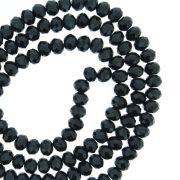 Fio de Cristal - Flat® - Preto - 4mm