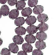 Fio de Cristal - Flat® - Roxo Transparente - 10mm