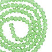 Fio de Cristal - Flat® - Verde Claro Transparente - 4mm