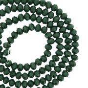 Fio de Cristal - Flat® - Verde Escuro - 4mm