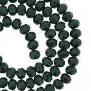 Fio de Cristal - Flat® - Verde Escuro - 6mm