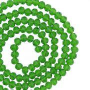 Fio de Cristal - Flat® - Verde Escuro Transparente - 4mm