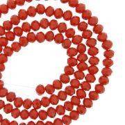 Fio de Cristal - Flat® - Vermelho - 4mm